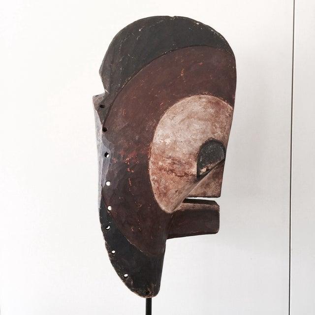 """Antique Songeye Kiwebe """"Police"""" Tribal Mask - Image 3 of 4"""