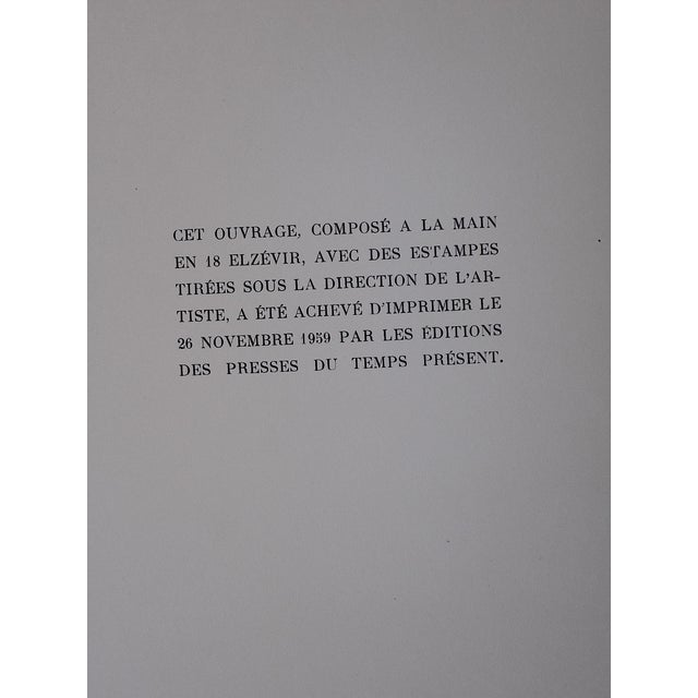 Limited Ed. Lithograph Mid 20th C. Clowns of Paris - Image 6 of 6