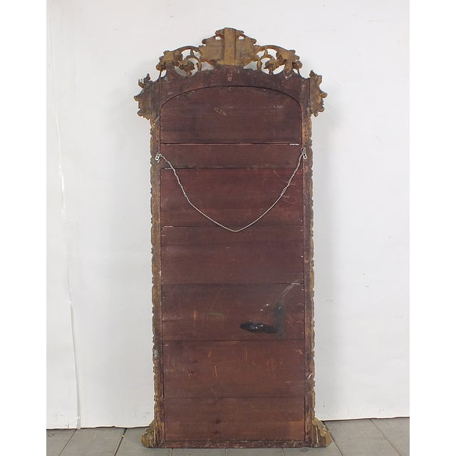 Late-19th Century Large Standing Italian Mirror - Image 9 of 9