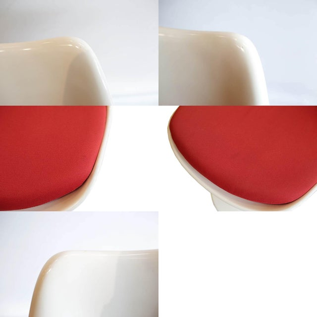 Saarinen Tulip Armless Chair by Knoll - Image 7 of 11
