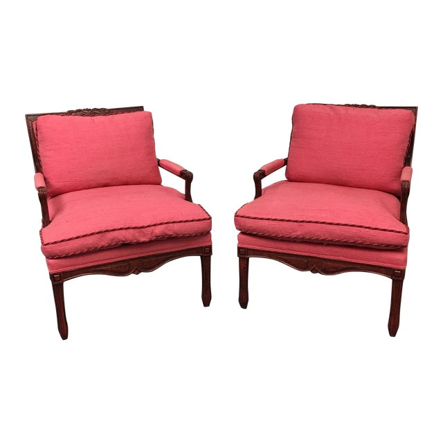 Minton-Spidell Cressant Chairs- A Pair - Image 1 of 11