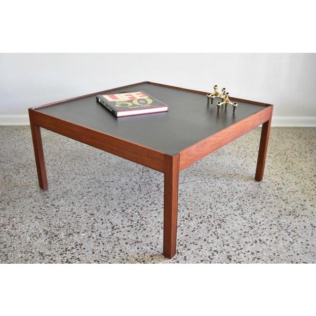 Mid-Century Danish Modern Teak Coffee Table - Image 4 of 8