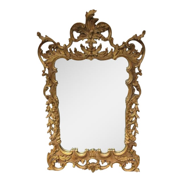 La Barge Baroque Gold Leafed Wall Mirror - Image 1 of 9