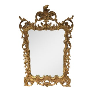 La Barge Baroque Gold Leafed Wall Mirror