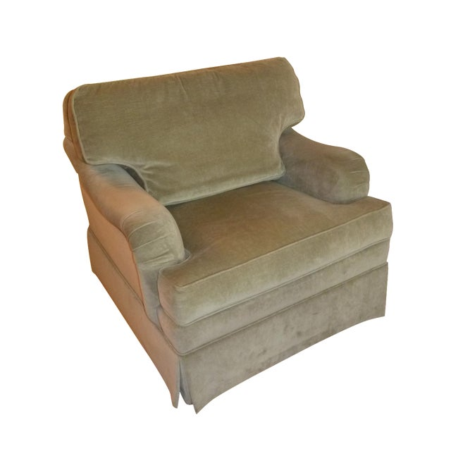 Ethan Allen Sage Arm Chair - Image 1 of 5