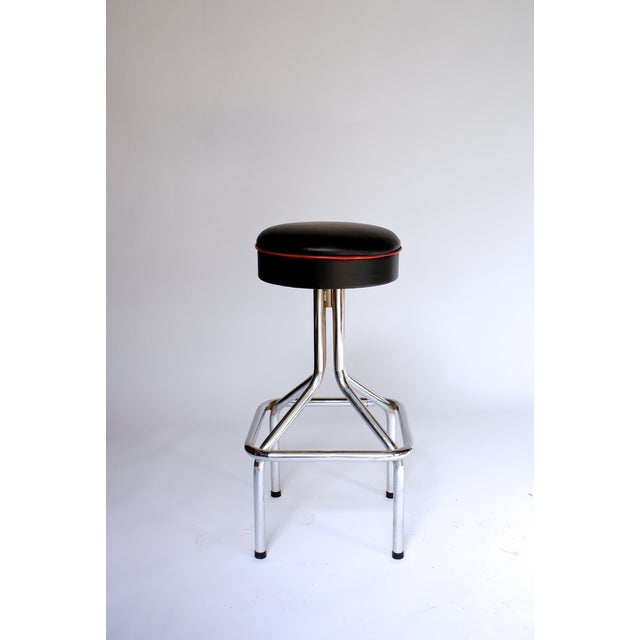 Tubular Steel Bar Stools - Set of 5 - Image 4 of 6