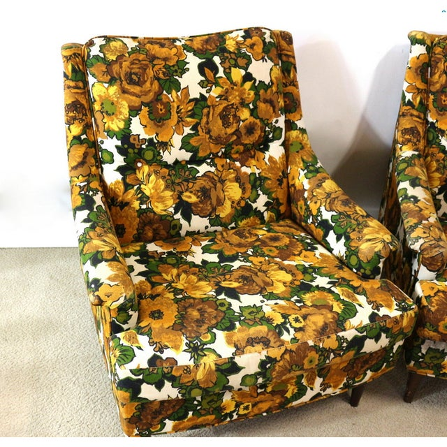 1950s Selig Chairs, Upholstered Seats - A Pair - Image 3 of 6