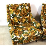 Image of 1950s Selig Chairs, Upholstered Seats - A Pair