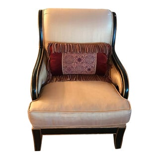 Italian Handcrafted Silk Chair