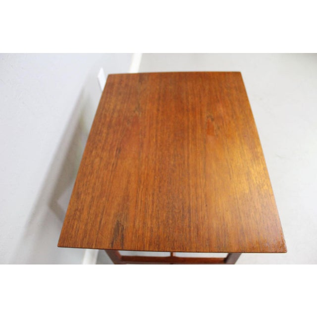 George Tanier Teak Side Table by P. Jeppeson - Image 7 of 9