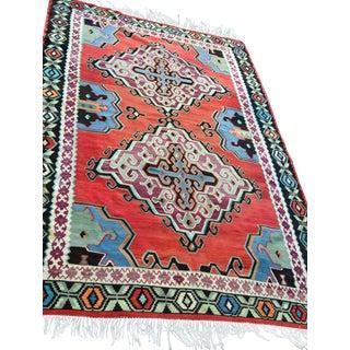 """Vintage Vibrant Aztec Rug - 6' 7"""" x 10'"""