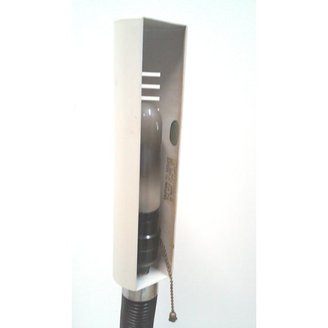 Modernist Tubular White Desk Lamp - Image 3 of 5