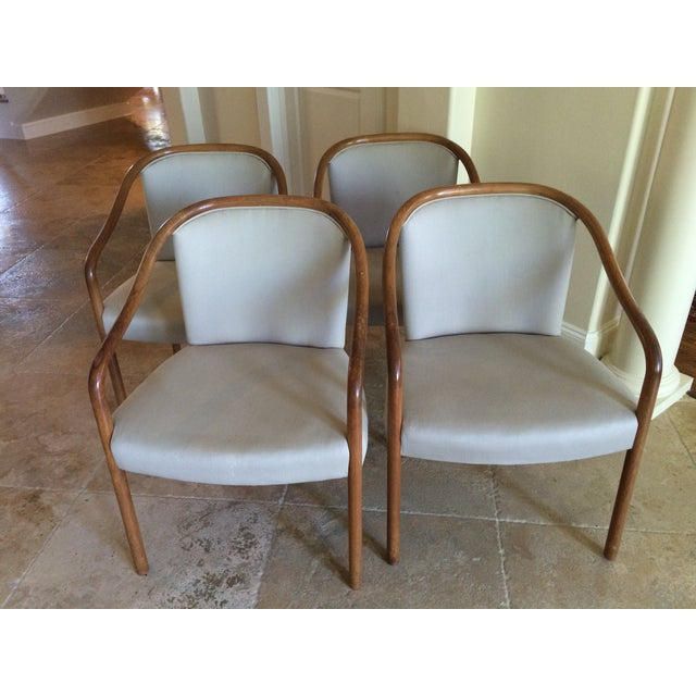 Ward Bennett Club Chairs - 4 - Image 2 of 5