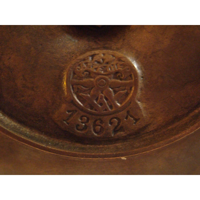 Bronze Chamber Candel Holders - A Pair - Image 8 of 11