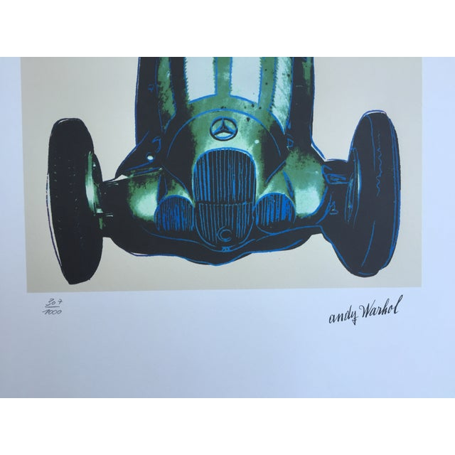 Andy Warhol Mercedes Grano-Lithograph - Image 4 of 5