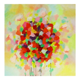 'Blooming' Contemporary Painting on Canvas