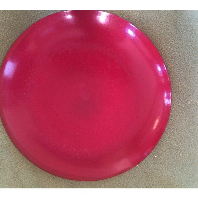 Catheineholm Red Lotus Plate - Image 5 of 5