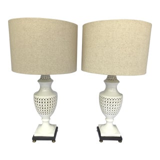 Pair of Chinoiserie Frederick Cooper Signed Table Lamps