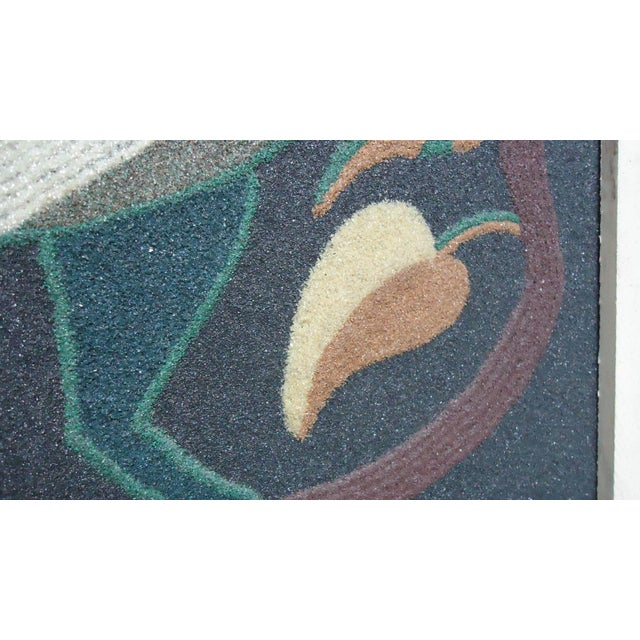 Folk Art Duck Sand Painting - Image 6 of 9