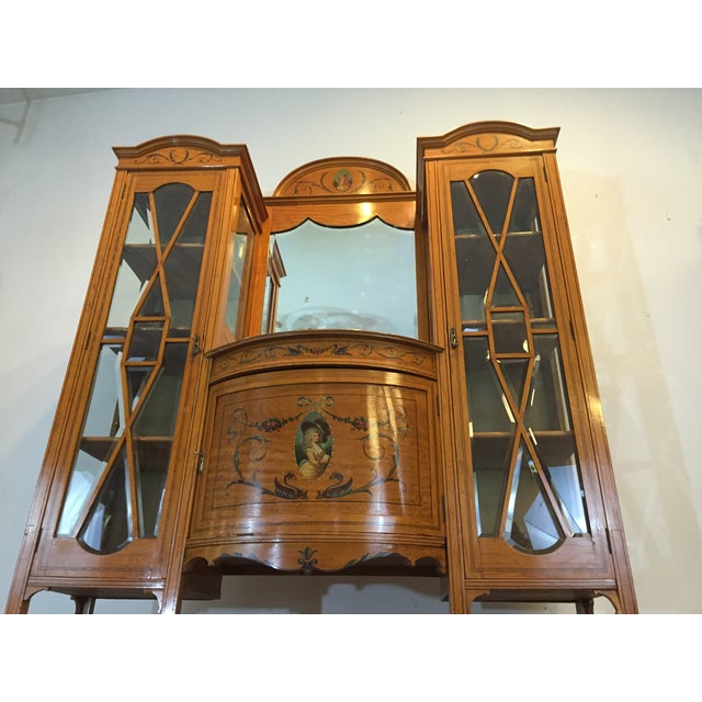 Antique European Display Hutch - Image 9 of 11
