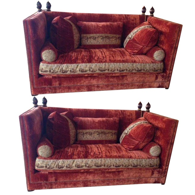Custom Knole Sofas - a Pair - Image 1 of 4