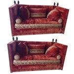 Image of Custom Knole Sofas - a Pair