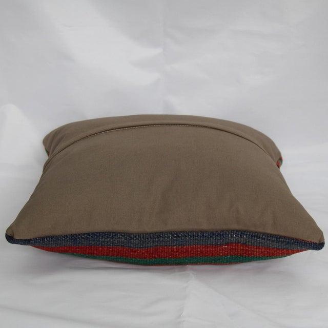 Turkish Handmade Kilim Pillow Cover - Image 6 of 6