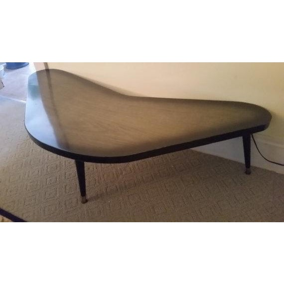 Image of Mid-Century Modern Atomic Boomerang Table