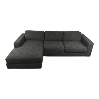 West Elm Gray Sectional Sofa