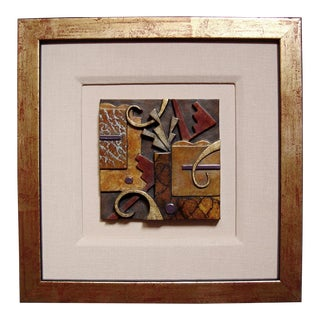 Bronze Patinated Tile by Tammy Garcia