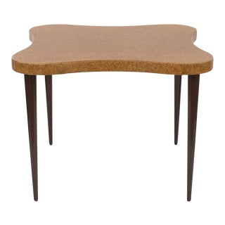 Paul Frankl Biomorphic Cork Game Table