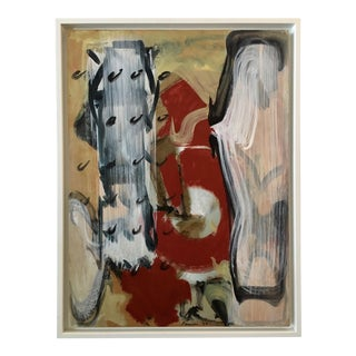 1993 Ranieri Abstract Oil on Masonite Painting
