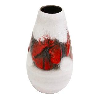 Lava Glaze Pottery Vase from Germany
