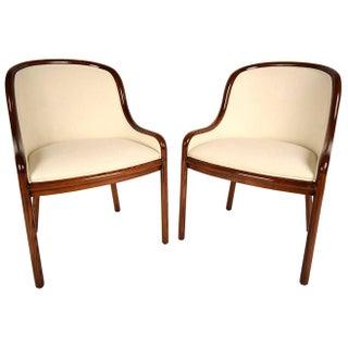 Ward Bennett Hall Chairs - Pair
