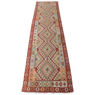 "Vegetable Dye Handmade Kilim - 2'6"" x 9'6"""