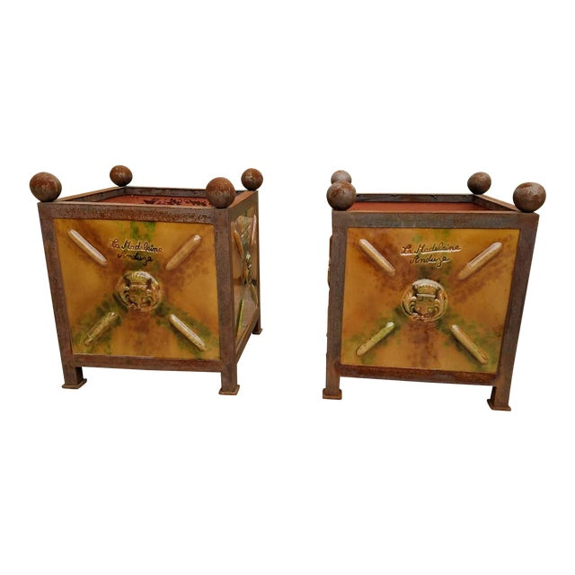 French Anduze Garden Planters - A Pair - Image 1 of 9