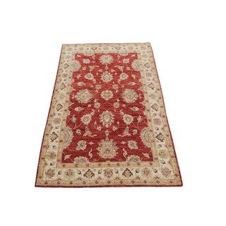 Wool Hand Knotted Pakistan Rug 4′4″x 6′4″