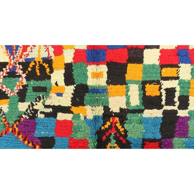 "Vintage Azilal Moroccan Berber Rug - 3'3"" x 5'9"" - Image 2 of 2"