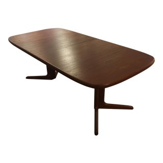 Expandable Mid-Century Danish Table