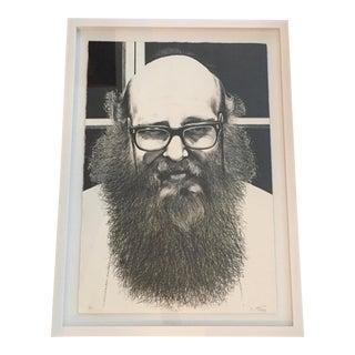 Black & White Signed Serigraph Print