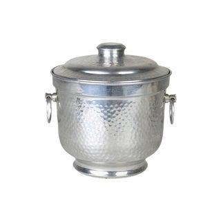 Vintage Italian Aluminum Ice Bucket