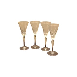 Tiara by Wedge Wood Water Goblets - 4
