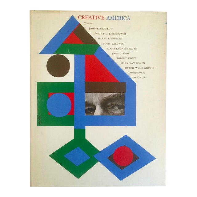 "Vintage 1962 ""Creative America"" Mid Century Modern Collector Cultural Arts Book - Image 1 of 10"