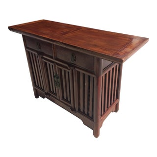Asian Solid Wood Cabinet