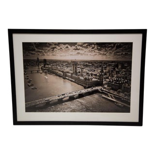 "New York Times Archives Framed Fine Art Photography, ""London"""
