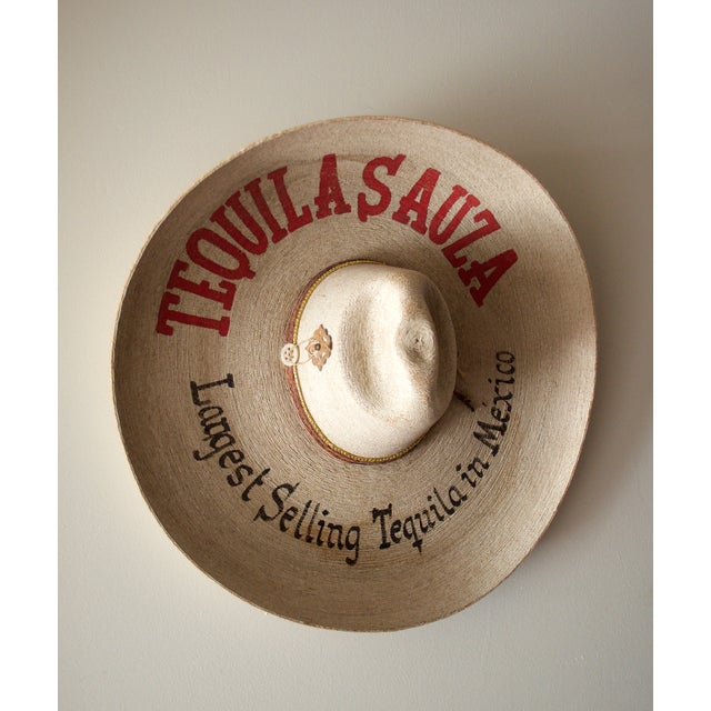 Image of Vintage Advertising Sombrero
