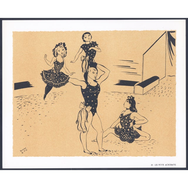 1944 Lithographs - Circus: # 26 & 30 - A Pair - Image 5 of 7
