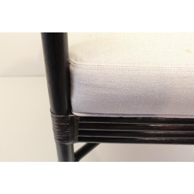 McGuire Orlando Diaz-Azcuy Salon Arm Chair - Image 3 of 6