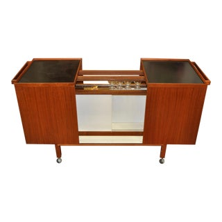 Danish Modern Bar Cart by Niels Erik Jensen, 1960