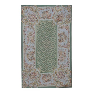 """Pasargad Aubusson Hand Woven Wool Rug - 10' 9"""" X 15'11"""""""